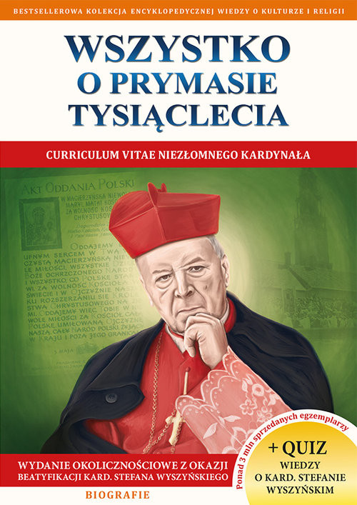 okładka Wszystko o Prymasie Tysiąclecia, Książka | Molka Jacek