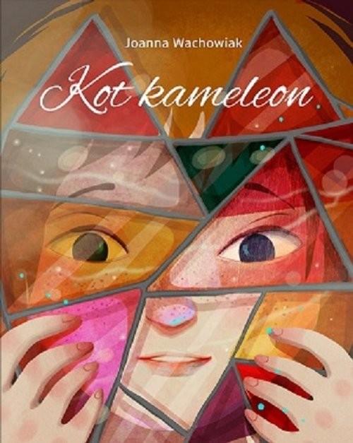 okładka Kot kameleon, Książka | Joanna  Wachowiak