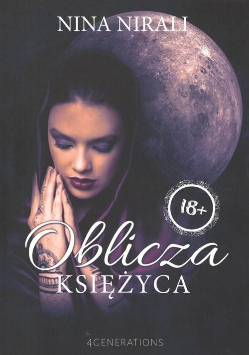 okładka Oblicza księżyca, Książka | Nirali Nina
