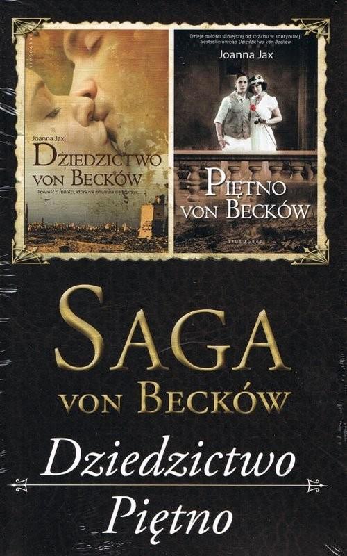 okładka Pakiet Saga von becków. Dziedzictwo von Becków + Piętno von Becków (wyd. 2020), Książka | Joanna Jax