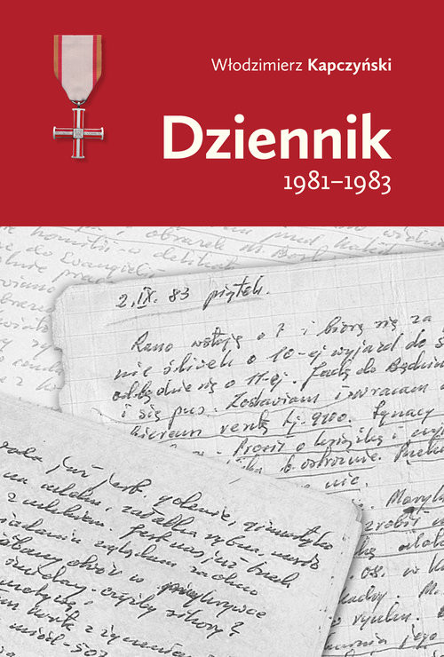 okładka Dziennik 1981-1983, Książka | Kapczyński Włodzimierz