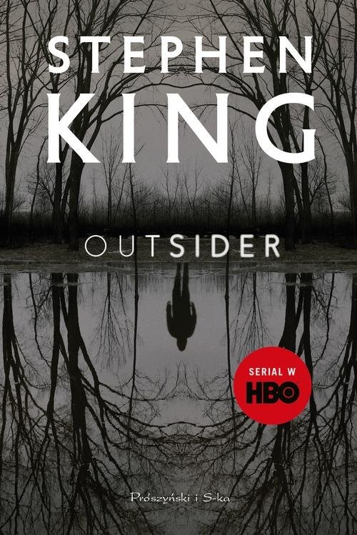 okładka Outsider, Książka | Stephen King