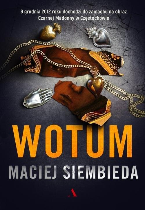 okładka Wotum, Książka | Maciej Siembieda