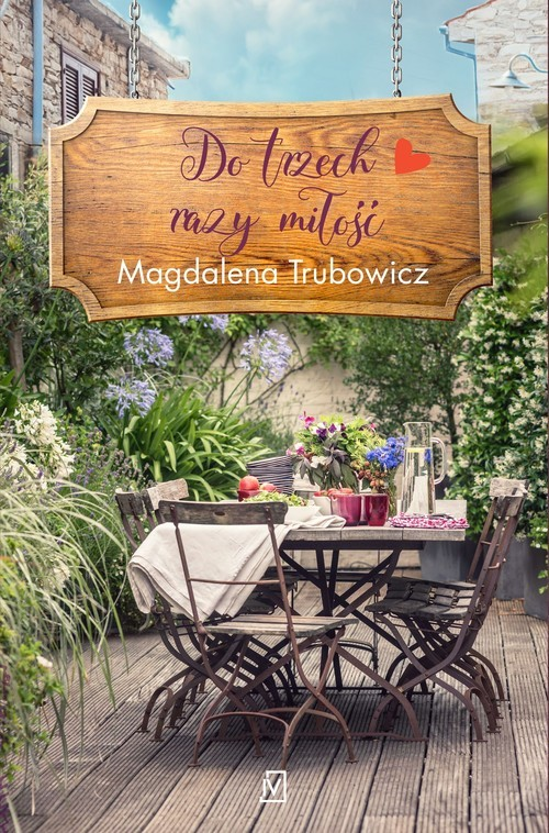 okładka Do trzech razy miłość, Książka | Magdalena  Trubowicz