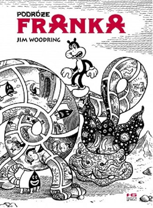 okładka Podróże Franka, Książka | Woodring Jim