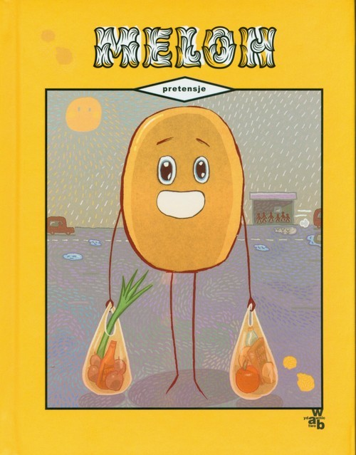 okładka Melon Pretensjeksiążka     