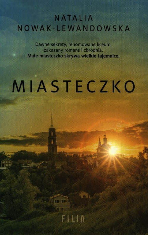 okładka Miasteczko, Książka | Natalia Nowak-Lewandowska
