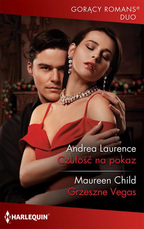 okładka Czułość na pokaz Grzeszne Vegas, Książka | Andrea Laurence, Maureen Child