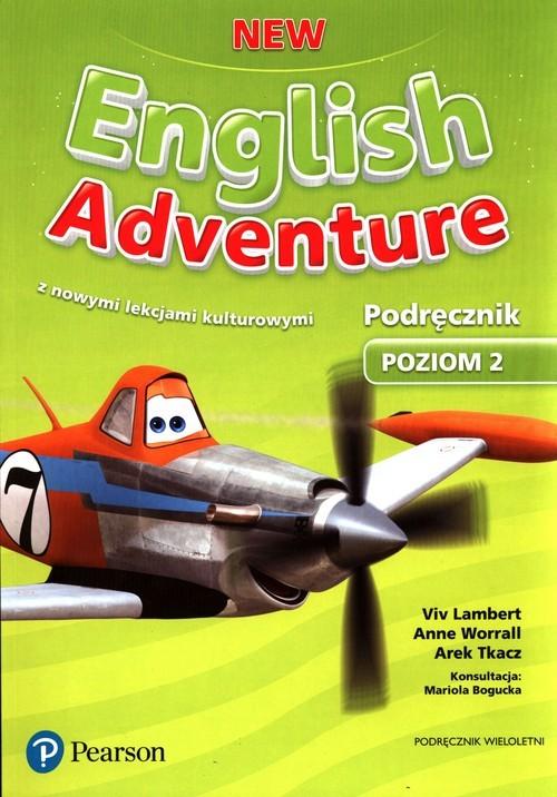 okładka New English Adventure Poziom 2 Podręcznik Szkoła podstawowa, Książka | Viv Lambert, Anne Worrall, Arek Tkacz
