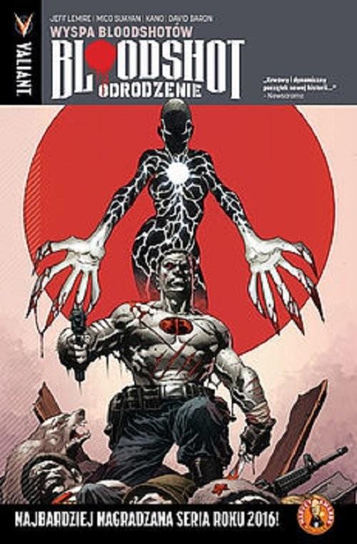 okładka Bloodshot Odrodzenie 4 Wyspa Bloodshotów, Książka | Lemire Jeff