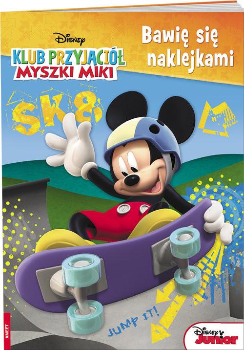 okładka Klub Przyjaciół Myszki Miki Bawię się naklejkami NAKB-2, Książka |