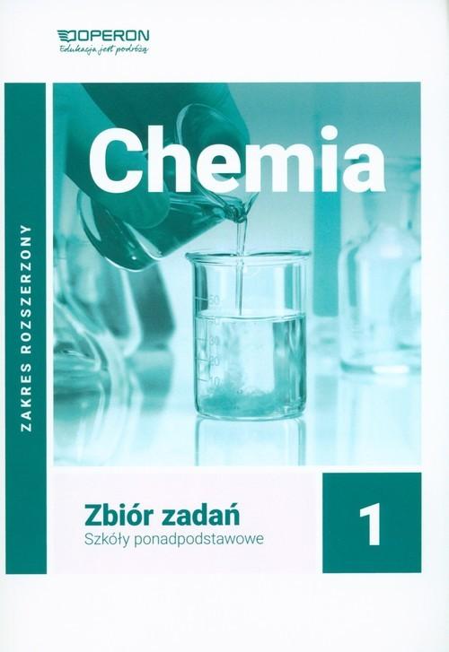 okładka Chemia 1 Zbiór zadań Zakres rozszerzony, Książka | Bąkowski Wojciech, Agata Kremer