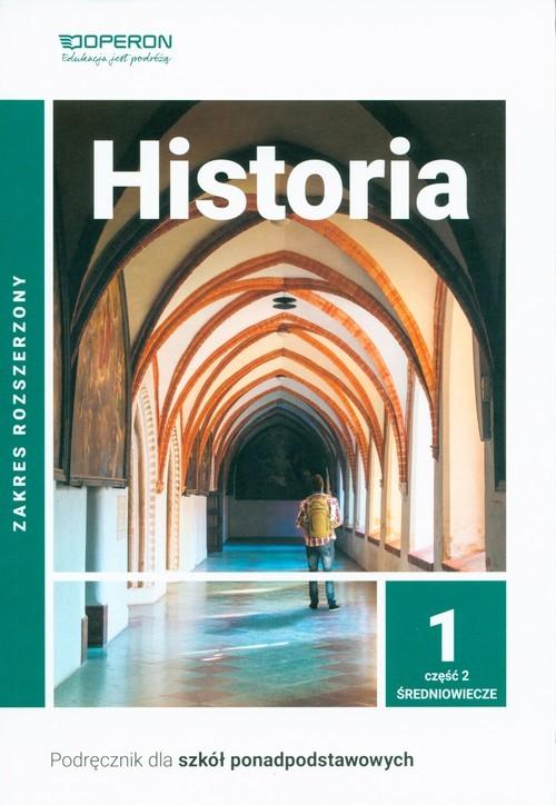 okładka Historia 1 Podręcznik Część 2 Zakres rozszerzony Szkoły ponadpodstawowe, Książka | Janusz Ustrzycki, Mirosław Ustrzycki