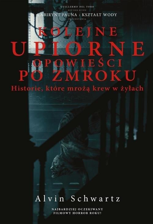 okładka Kolejne upiorne opowieści po zmroku Historie które mrożą krew w żyłachksiążka      Schwartz Alvin