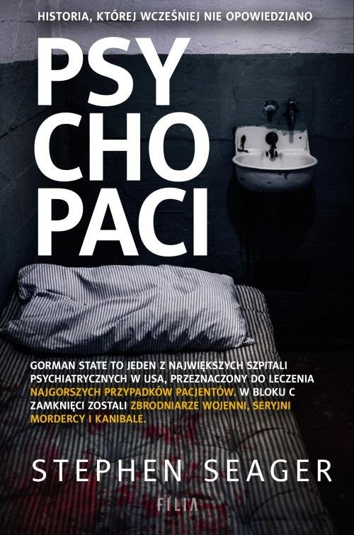 okładka Psychopaciksiążka      Seager Stephen