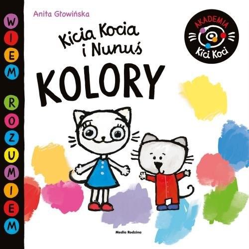 okładka Akademia Kici Koci.Kolory, Książka | Anita Głowińska