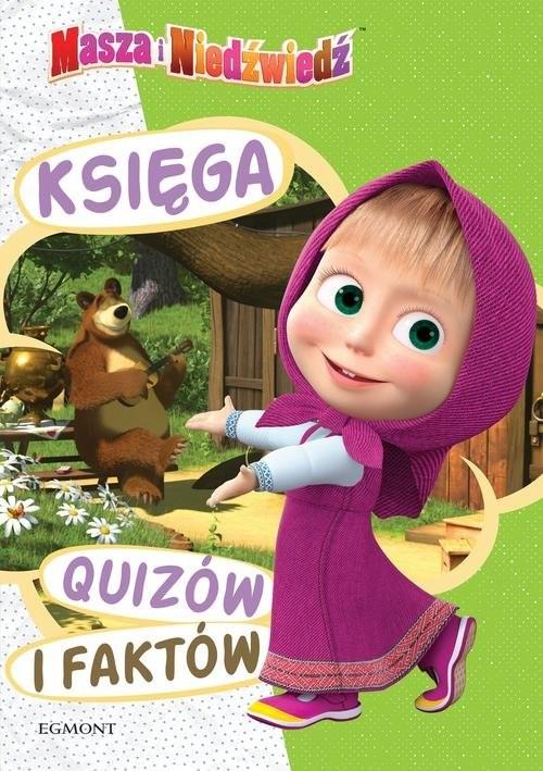 okładka Masza i Niedźwiedź Księga quizów i faktów, Książka   Opracowanie zbiorowe