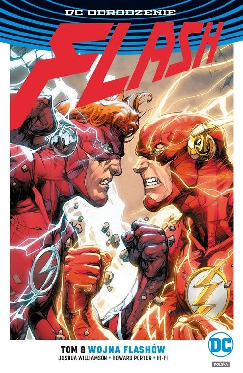 okładka Flash T.8 Wojna Flashów, Książka | Williamson Joshua