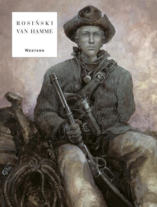 okładka Western, Książka | Grzegorz Rosiński