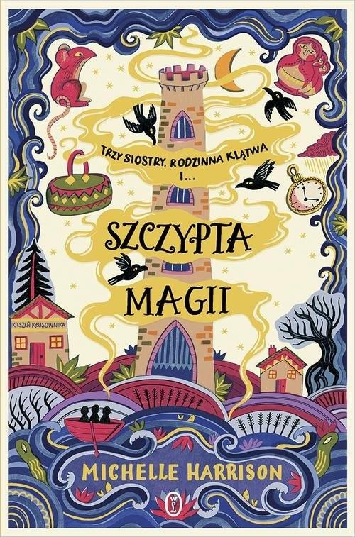okładka Szczypta magii, Książka | Michelle Harrison