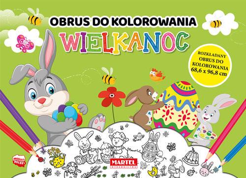 okładka Wielkanoc - obrus do kolorowania, Książka | Aleksandra Adamska-Rzepka