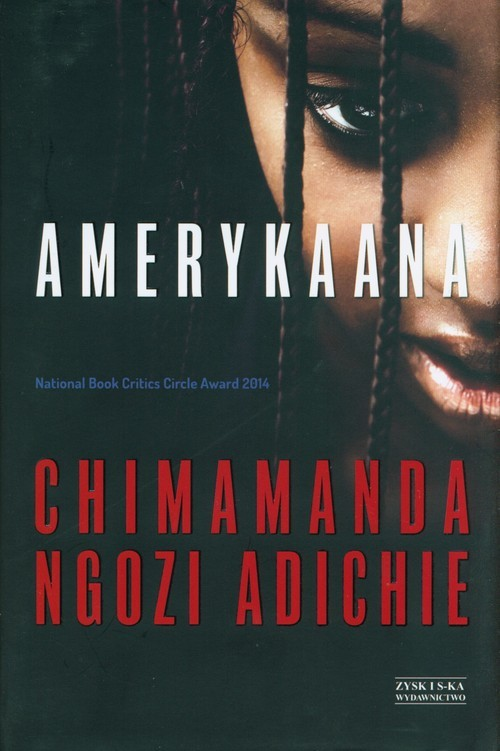 okładka Amerykaana, Książka | Adichie Chimamanda Ngozi