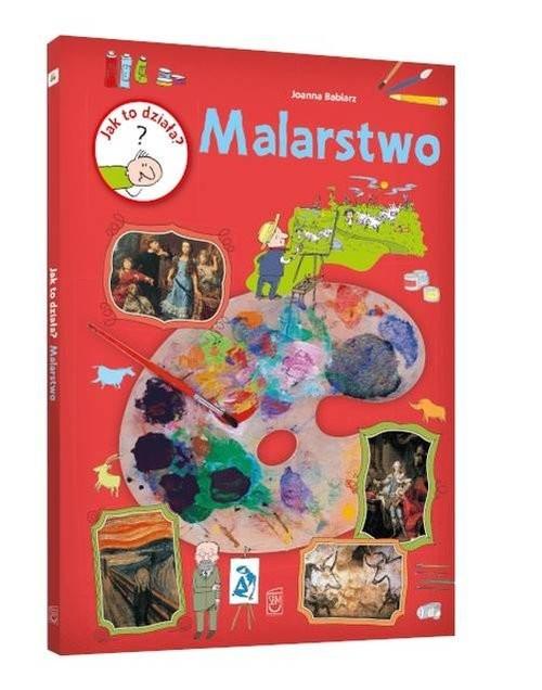 okładka Jak to działa Malarstwo, Książka | Babiarz Joanna