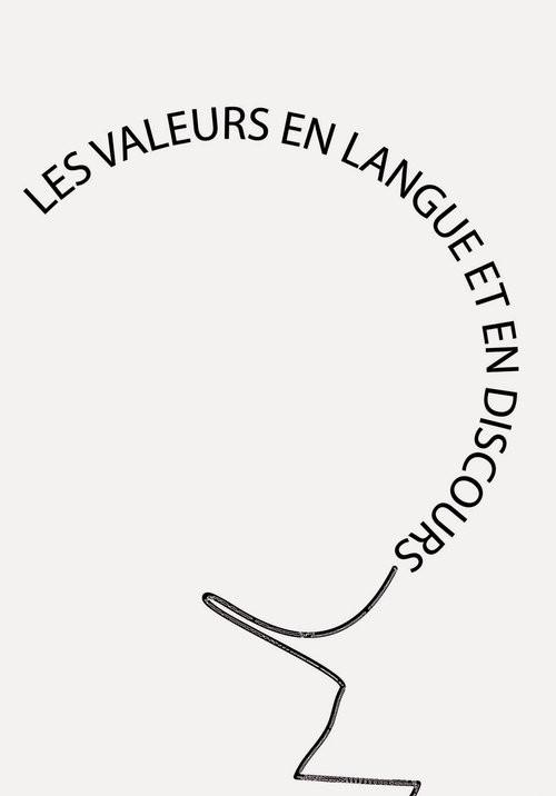 okładka Les valeurs en langue et en discours, Książka  