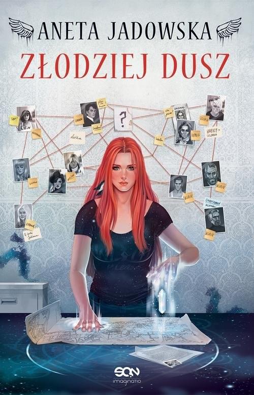 okładka Heksalogia o Dorze Wilk Tom 1 Złodziej dusz, Książka | Aneta Jadowska