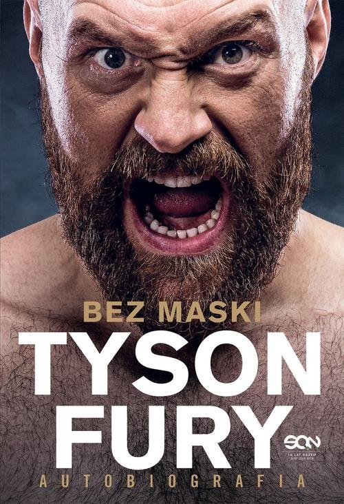 okładka Tyson Fury Bez maski Autobiografia, Książka | Fury Tyson