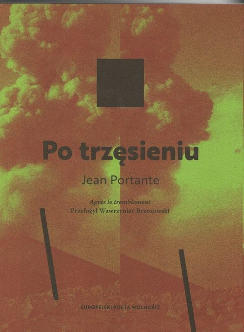 okładka Po trzęsieniuksiążka |  | Portante Jean
