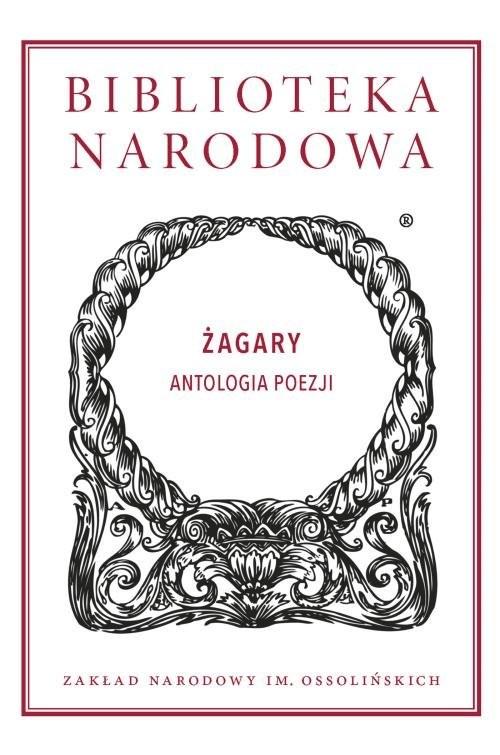 okładka Żagary. Antologia poezji, Książka |