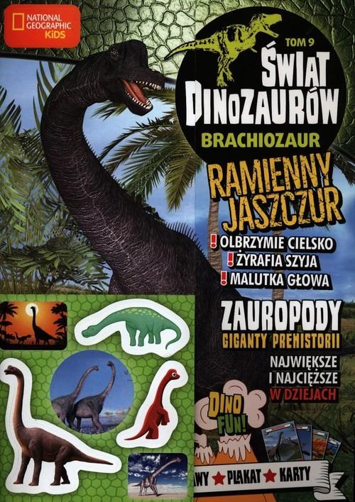 okładka Świat Dinozaurów Tom 9, Książka |