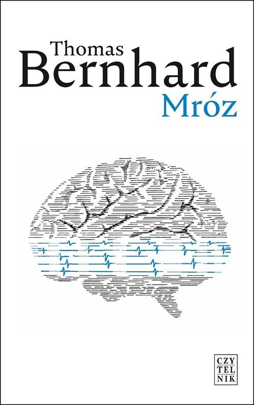 okładka Mróz, Książka | Thomas Bernhard