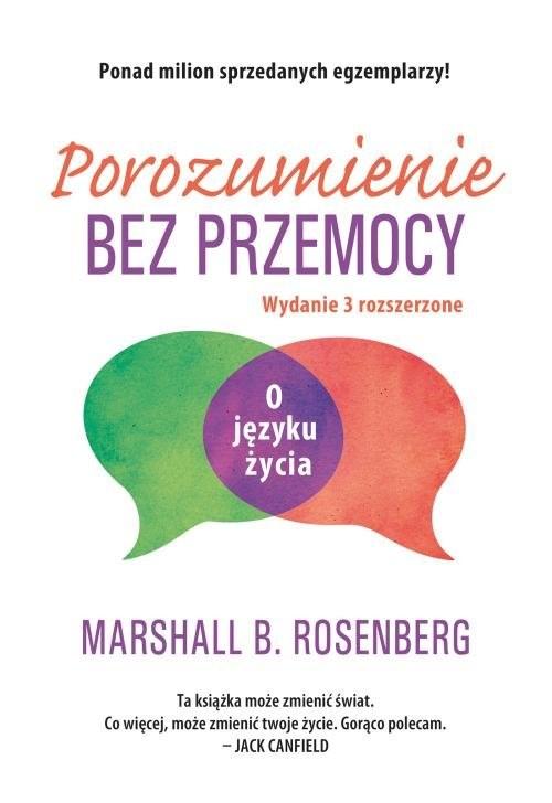 okładka Porozumienie bez przemocy O języku życia, Książka | Rosenberg Marshall