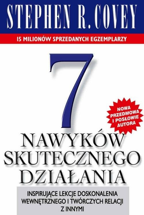 okładka 7 nawyków skutecznego działania, Książka | Stephen R. Covey