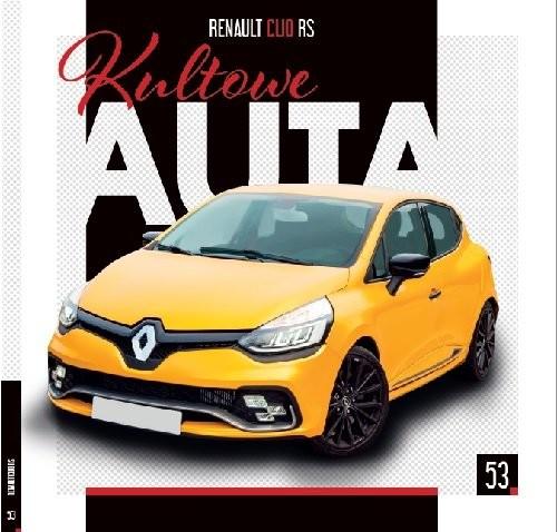 okładka Kultowe Auta. 53 Renault Clio RS, Książka |