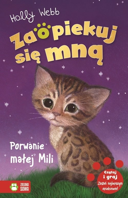 okładka Zaopiekuj się mną Porwanie małej Mili, Książka | Holly Webb