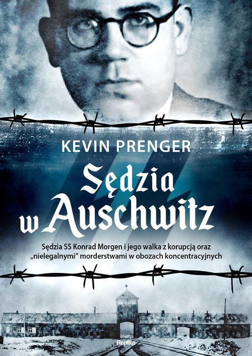 okładka Sędzia w Auschwitz, Książka | Prenger Kevin
