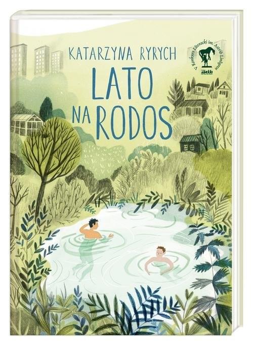 okładka Lato na Rodos, Książka | Katarzyna  Ryrych