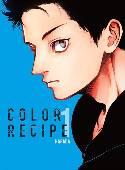 okładka Color Recipe 1, Książka | Harada