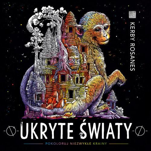 okładka Ukryte światy Pokoloruj niezwykłe krainy, Książka | Kerby Rosanes