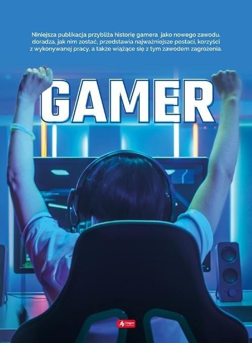 okładka Gamer, Książka | Ogrocka Angelika