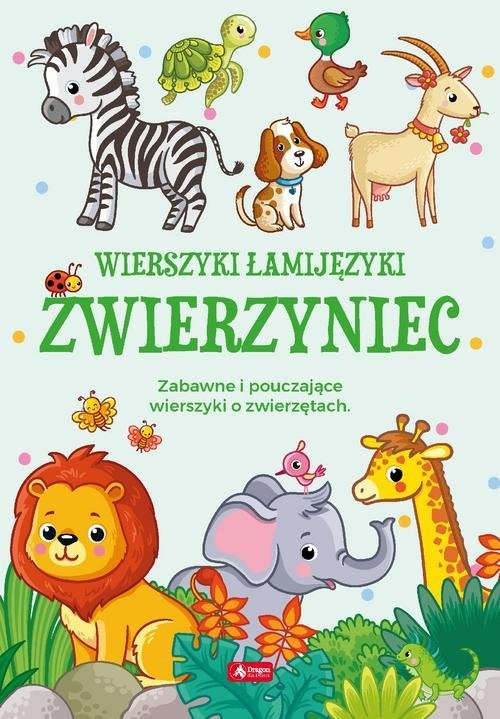 okładka Łamijęzyki Zwierzyniec, Książka | Chmiel Sylwia