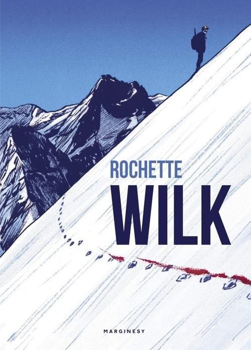 okładka Wilk, Książka | Rochette Jean-Marc