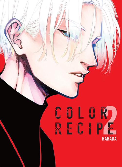 okładka Color Recipe 2książka      Harada