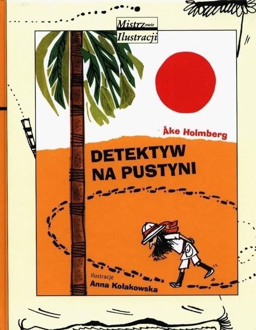 okładka Detektyw na pustyni, Książka | Holmberg Ake