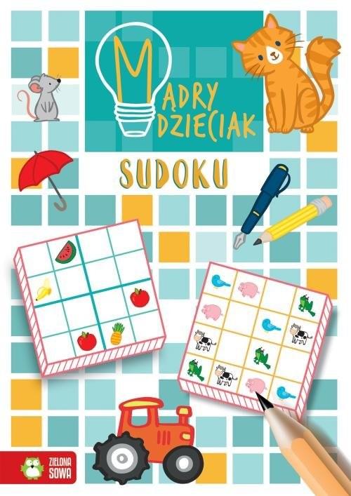 okładka Sudoku, Książka   Sarna Katarzyna