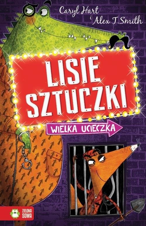 okładka Lisie sztuczki Wielka ucieczka, Książka | Hart Caryl
