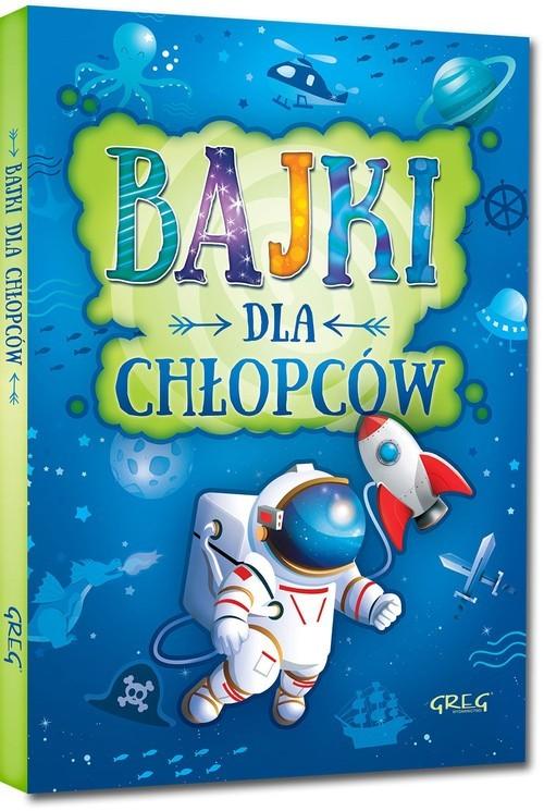 okładka Bajki dla chłopców, Książka | Małgorzata Białek